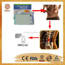 orignal equipment manufacturer good pain relief patches muscle/back pain relieving patch