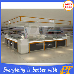 3d rendering jewellery shop design for jewelry store display