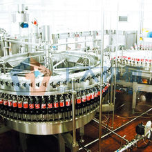 carbonated drinks washing filling capping 3-in-1 machine