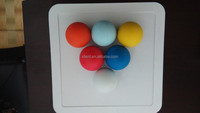 Rubber ball pet toys for dog