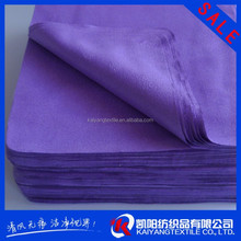2015 hot selling customized promotional microfiber cleaning cloth with no print