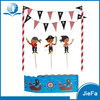 Mini Cake Banner Straws Cake Decoration For Kids Birthday Party Cake Decoration