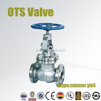 bellow seal globe valve dimensions and drawing