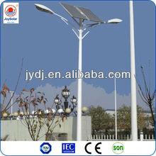 2014 vente chaude lumière solaire avec le poteau et avec un meilleur prix et de bonne qualité