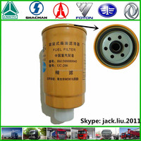 Sinotruk STEYR KING truck engine part diesel fuel filter H61500080043