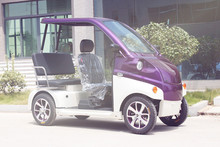 2015 new design 2 seaters small electric car for disabled