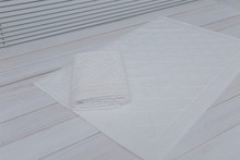 Hotel Non Slip Cotton Bath Mat