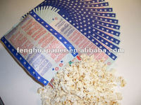 Factory Supply!!!1-5 color printing Microwave Popcorn Bag