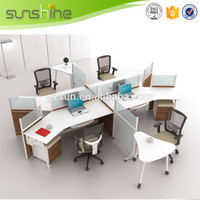 Alibaba Com Luxury Commercial Furniture Customized Office Wall Partition High End Wooden Office Cubicles WP24