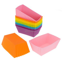 high quality 24-Pack Silicone Mini Reusable Cupcake and Muffin Baking Cups