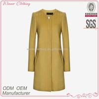 new style formal office wear women's maxi coats