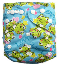Reuseable All In One Low Prices of Baby Diaper with Hip Snaps