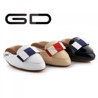 Slip-On Style and PU Lining Material women flat ballerina shoes