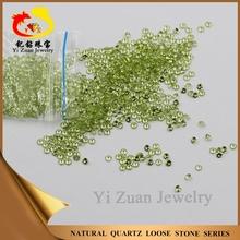 wholesale charming round shaped diamond cut natural rough peridot