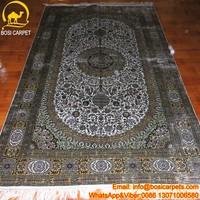 5x8ft Handmade turkish ivory floral handmade carpet/rugs wholesale turkey carpet