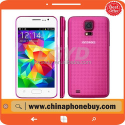Popular Htm H5W 4GB Magenta, 4.0 inch 3G Android phone 4.2 Smart Phone, MTK6572 1.0GHz Dual Core phone