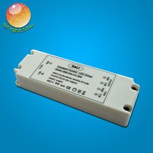 No flicker CE RoHS TUV SAA passed 30w waterproof electronic dimmable led driver