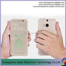 smart original intelligent tpu dot view case for htc desire 820 made in china