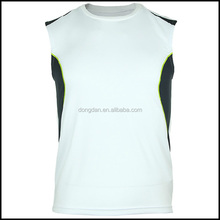Breathable cheap men sleeveless t shirts or plain sleeveless t shirts and big tall wholesale t shirts of basketball wear