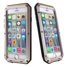 Aluminum Powerful Waterproof Gorilla Glass Metal Case for iPhone 6