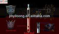 Yiloong 2014 new inventions of full mechanical mods as Transformer 4 shape ARES MOD with telescope body