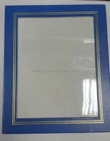cardboard certificate frames