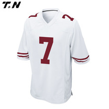 Promotional new model OEM service American football jersey
