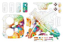 DIY Fashion Wrap skins DJI Phantom 3 Flag Graphic decals sticker Waterproof PVC labels advanced FREE SHIPPING