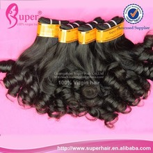 Virgin mongolian hair spring curly fast dropshipping femi hair collection