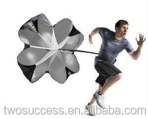 Running Football or Baseball Chute Power Drag Umbrella Training Parachute.jpg