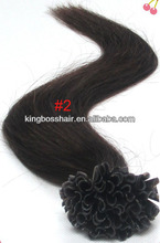 natural color beautiful hair extensions prebonded utip/itip/vtip/flat tip human hair products
