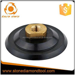 4 inch rubber polishing pads holder