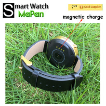 NEW smart watch with IP53 waterproof watch heart rate monitor magnetic charge smartwatch for all smartphone