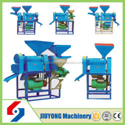 High capacity commercial auto rice mill machine