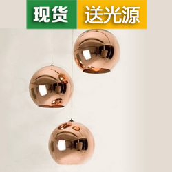 glass ball pendant personalized combination dining room lamp double staircase exquisite lighting special promotions
