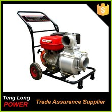 china water pump factory high volume high flow rate TLQGZ100-30S 4 inch electric gasoline irrigation water pump for sale