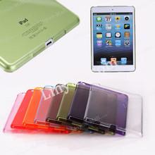 clear back cover for apple iPad mini 1 2 3, plastic hard case for ipad mini 1 2 3