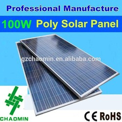 Good quality 100w poly the best lowest price power solar panel malaysia price