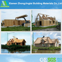scandinavian style two-storey well-insulated wooden prefab house