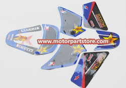 GRAPHICS DECAL STICKERS for YAMAHA PW50 PW 50 TSX-PW015