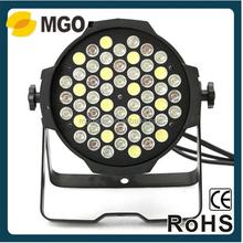 10w rgbw led par light led flat par light