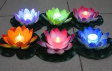 LED Candle lily lantern wishing light