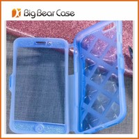 Factory front back cover tpu phone case for iphone 6