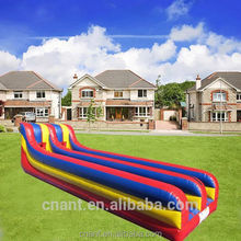 colorful inflatable slide for swimming water pool