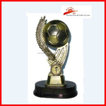 China supplier resin champions league sports awards trophy