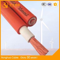 small resistance no impurities pure copper conductor rubber cable