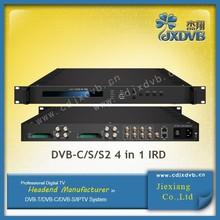 DVB-C Tuner To IP And ASI Satellite Receiver Decoder with UDP/RTSP/RTP