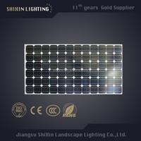 Transparent 12v 150W 180W solar panel