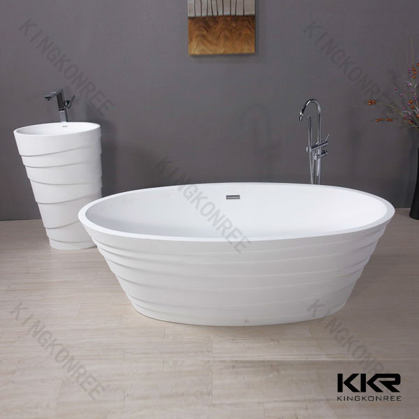 Very small bathtubs stone resin bathtub size made in china