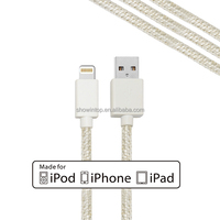 Shenzhen mobile phone accessories factory in china wholesale 3.3ft 1m 8 pin usb 2.0 cable for iphone 6 charger support ios8 ios9